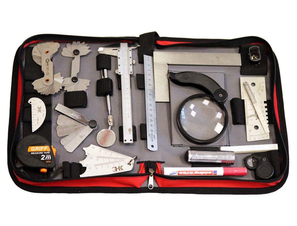 Комплект инструмента ВИК для визуального и измерительного контроля