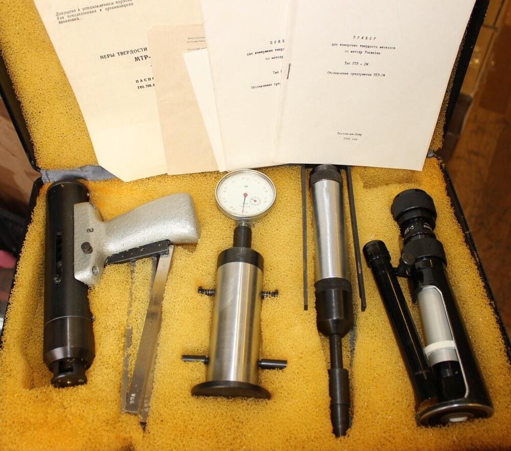 Приборы для измерения твердости металла