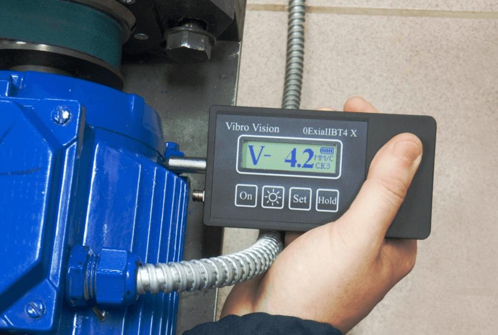 Прибор для вибродиагностики оборудования