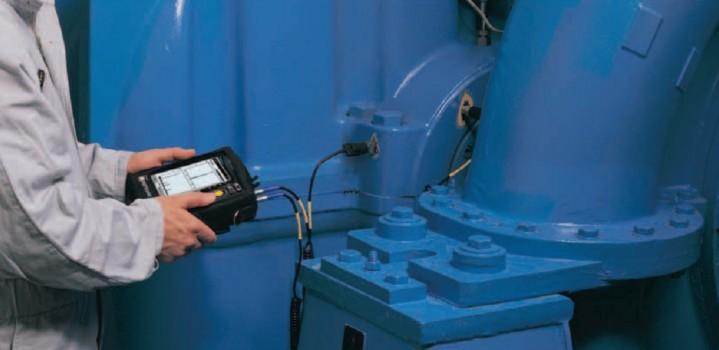 Измерение параметров вибрации оборудования в компании Сфера технической экспертизы