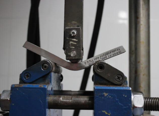 Испытания металлов на изгиб от компании «Сфера технической экспертизы»